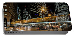 Chicago Nighttime Time Exposure Portable Battery Charger