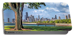 Chicago North Skyline Park Portable Battery Charger