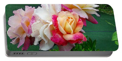 Portable Battery Charger featuring the photograph Chicago Peace Roses by Sadie Reneau