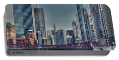 Chicago River East Portable Battery Charger