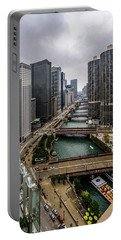 Chicago River Portable Battery Charger
