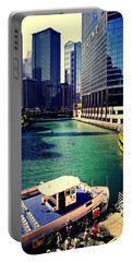 City Of Chicago - River Tour Portable Battery Charger
