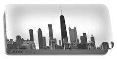 Chicago Skyline No. 1-1 Portable Battery Charger