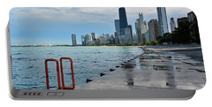 Chicago Skyline Lakefront Trail Portable Battery Charger