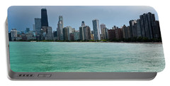 Chicago Skyline North Avenue Beach Portable Battery Charger