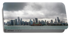 Chicago Skyline Portable Battery Charger
