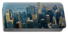 Chicago Sunset Portable Battery Charger