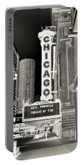 Chicago Theater - 2 Portable Battery Charger by Ely Arsha