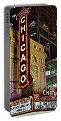 Chicago Theater Aglow Portable Battery Charger
