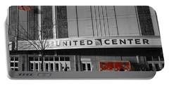 Chicago United Center Signage Sc Portable Battery Charger