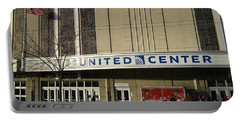 Chicago United Center Signage Portable Battery Charger
