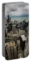 Chicago View From 70th Floor Portable Battery Charger