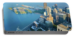 Chicago Waterfront Skyline Portable Battery Charger