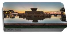 Chicago's Buckingham Fountain At Dawn  Portable Battery Charger