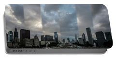 Chicago's Buckingham Fountain Time Slice Photo Portable Battery Charger