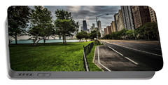Chicago's Lake Shore Drive Portable Battery Charger