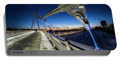 Chicago's New 35th Street Ped Bridge At Dawn Portable Battery Charger