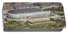 Chicago's Soldier Field Aerial Portable Battery Charger