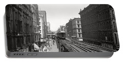 Chicago's Wabash Avenue  1900 Portable Battery Charger