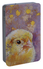 Chick Portable Battery Charger by Michael Creese