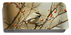 Chickadee 2 Of 2 Portable Battery Charger by Robert Frederick