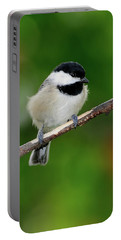 Chickadee Portable Battery Charger by Betty LaRue