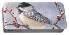 Chickadee Dee Dee Portable Battery Charger