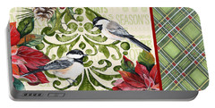 Chickadee Holiday-jp3311 Portable Battery Charger