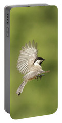 Chickadee In Flight Portable Battery Charger