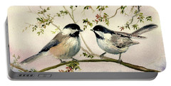 Chickadee Love Portable Battery Charger