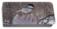 Chickadee Selfie Portable Battery Charger