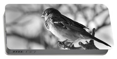 Chickadee Portable Battery Charger by Sheila Ping