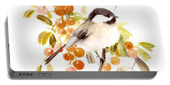 Chickadee Portable Battery Charger by Suren Nersisyan