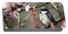 Chickadee Portable Battery Charger by Trina Ansel