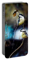 Chickadees Portable Battery Charger