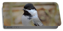 Chickadee's Winter Reverie Portable Battery Charger