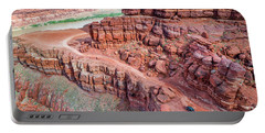 Chicken Corner Trail And Colorado River Portable Battery Charger