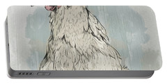 Chicken Portrait-farm Animals Portable Battery Charger