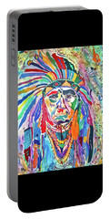 Chief Joseph Of The Nez Perce Portable Battery Charger