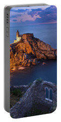 Portable Battery Charger featuring the photograph Chiesa San Pietro by Brian Jannsen