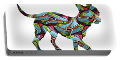 Chihuahua Spirit Glass Portable Battery Charger