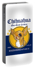 Chihuahua One-eyed Cerveza Portable Battery Charger