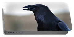 Chihuahua Raven Profile Portable Battery Charger