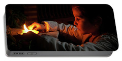 Child In The Night Portable Battery Charger