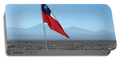 Chilean Flag Portable Battery Charger
