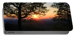 Portable Battery Charger featuring the photograph Chilhowee Sunset by Kathryn Meyer