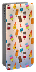 Chilled Friends - Summer Background Portable Battery Charger