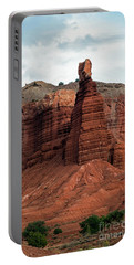 Chimney Rock In Capital Reef Portable Battery Charger