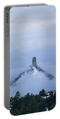 Chimney Rock Rising Portable Battery Charger by Jason Coward