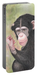 Chimpanzee Portable Battery Charger